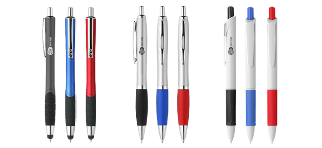 Bolígrafos-personalizados por la Imprenta online de lunes a domingo 24/7-bolígrafos