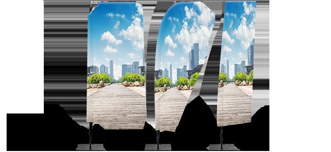 Banderolas-de-playa personalizados por la Imprenta online de lunes a domingo 24/7-banderolas-de-playa