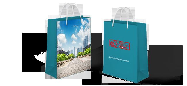 Bolsas-de-papel-personalizadas por la Imprenta online de lunes a domingo 24/7-bolsa-de-papel