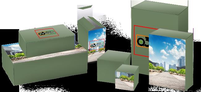 Cajas-automontables personalizadas por la Imprenta online de lunes a domingo 24/7-cajas-auntomontables