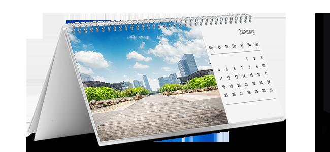Calendarios-de-mesa personalizados por la Imprenta online de lunes a domingo 24/7-calendarios-de-mesa