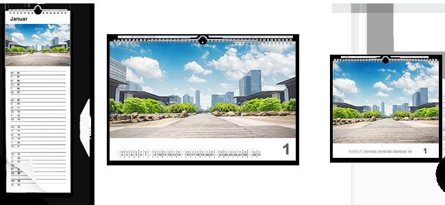 Calendarios de pared personalizados por la Imprenta online de lunes a domingo 24/7-calendarios de pared