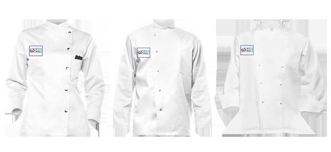 Chaquetillas de cocina personalizadas por la Imprenta online de lunes a domingo 24/7-chaquetillas-de-cocina