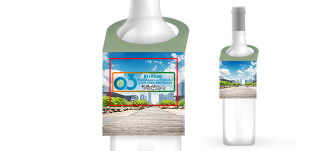 Colgadores para botellas personalizados por la Imprenta online de lunes a domingo 24/7-colgadores-para-botellas