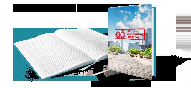 Cuadernos de notas personalizados por la Imprenta online de lunes a domingo 24/7-cuadernos-de-notas