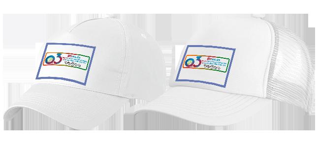 Gorras personalizadas por la Imprenta online de lunes a domingo 24/7- gorras