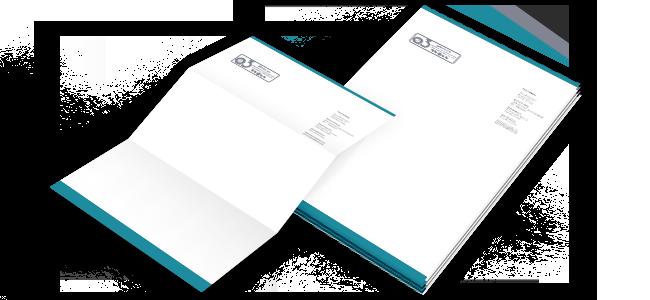 Papel de carta personalizado por la Imprenta online de lunes a domingo 24/7-papel-de-carta
