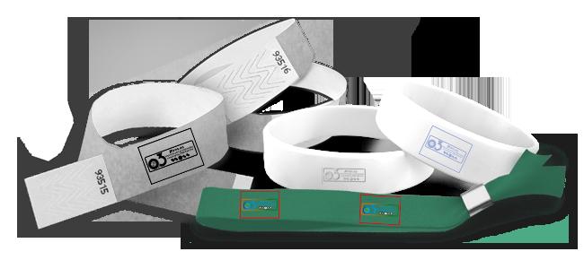 Pulseras para eventos personalizadas por la Imprenta online de lunes a domingo 24/7-pulseras-para-eventos