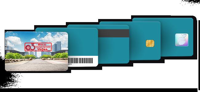 Tarjetas de plástico personalizadas por la Imprenta online de lunes a domingo 24/7-tarjetas-de-plástico