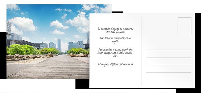 Tarjetas postales personalizadas por la Imprenta online de lunes a domingo 24/7-tarjetas-postales